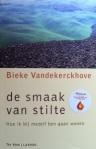 Vandekerckhove, Bieke - De smaak van stilte