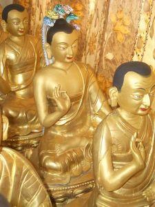 Tibetaans beeld van Nagarjuna (Wikipedia)