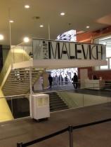 Malevich in het Stedelijk